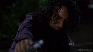 Sayid após matar uma criança.