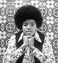 Mchael Jackson on Jackson's 5
